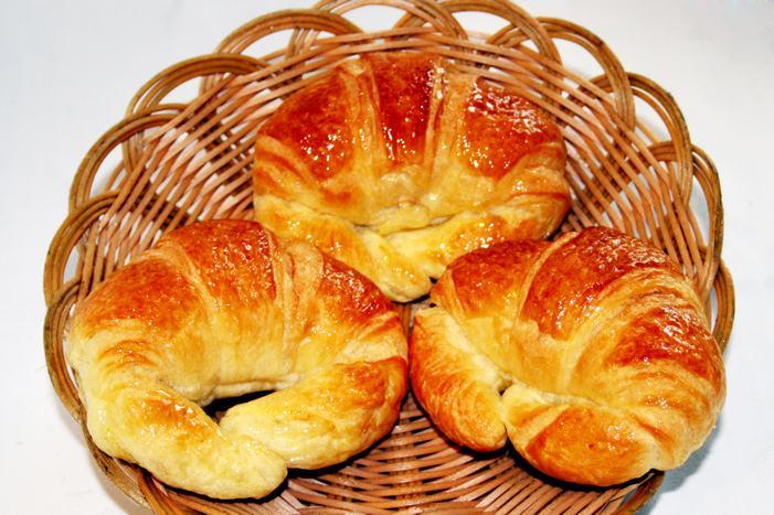 面包制作工艺手绘图